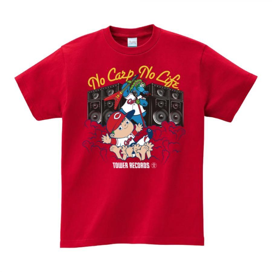 NO CARP, NO LIFE. 2020 T-shirts レッド