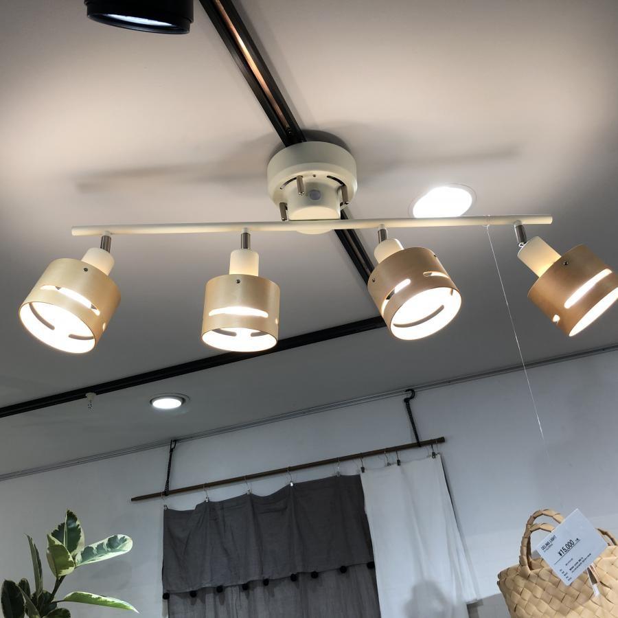ハマラシーリングランプ4灯