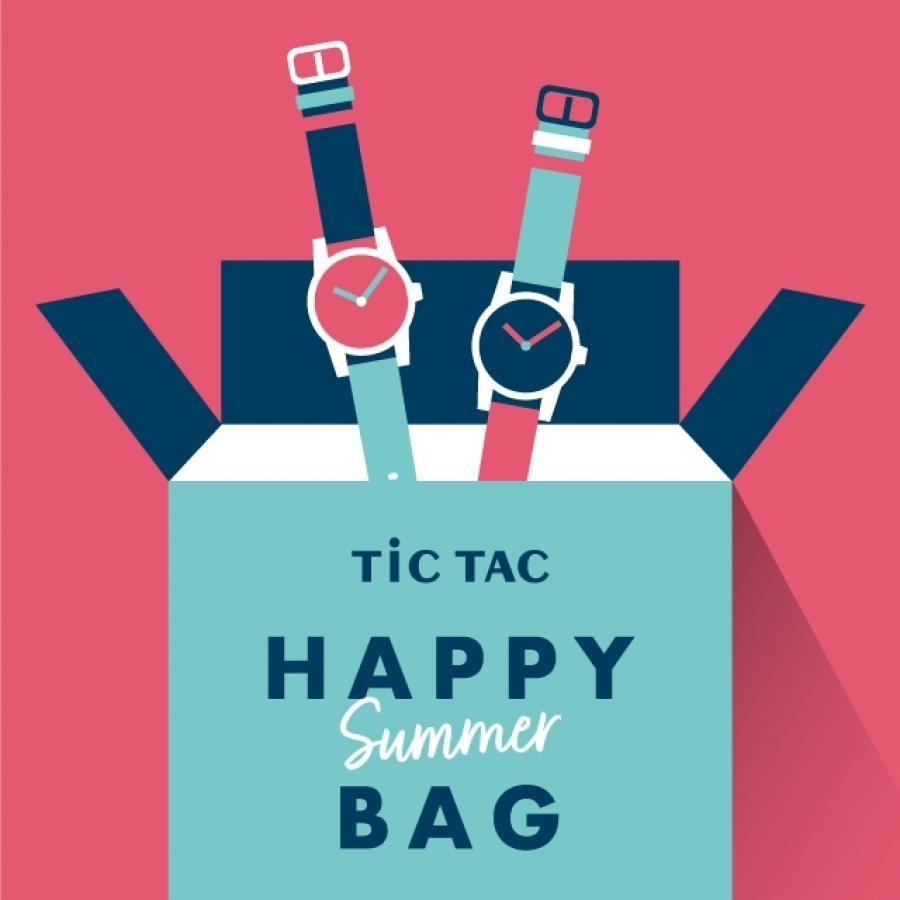 【メンズ電波ソーラー&レディースソーラーセット】腕時計2本で27,500円 TiCTAC 2021 HAPPY SUMMER BAG!!