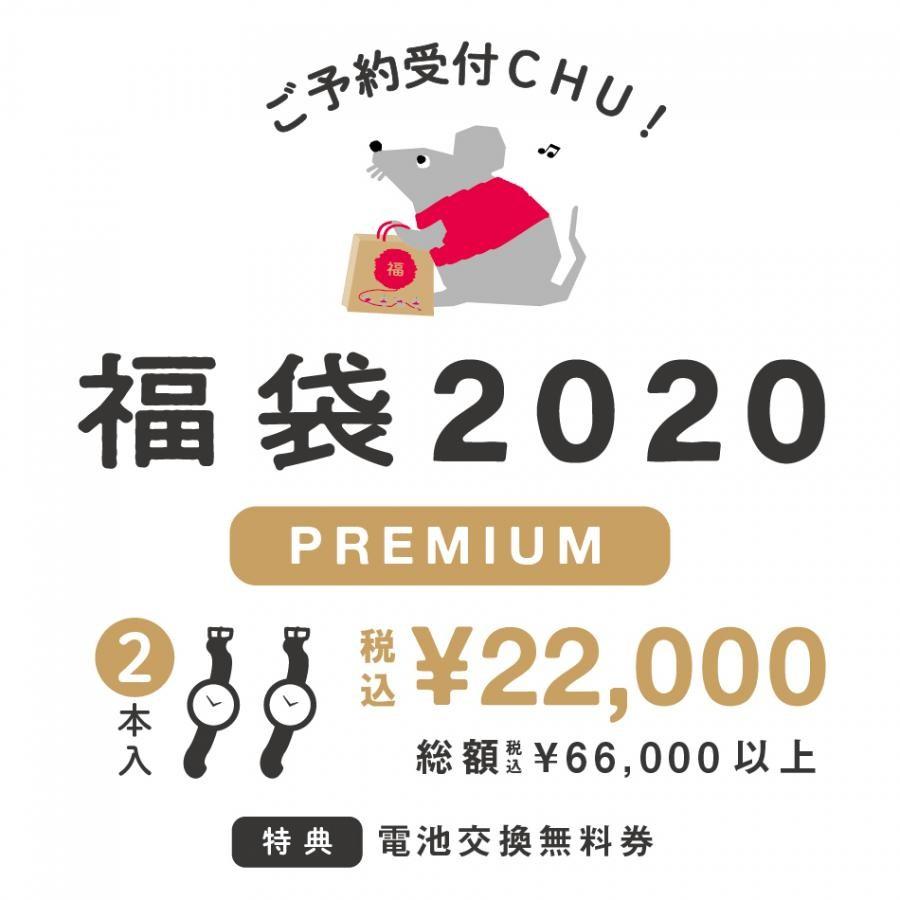 レディース福袋 腕時計2点 6万円相当