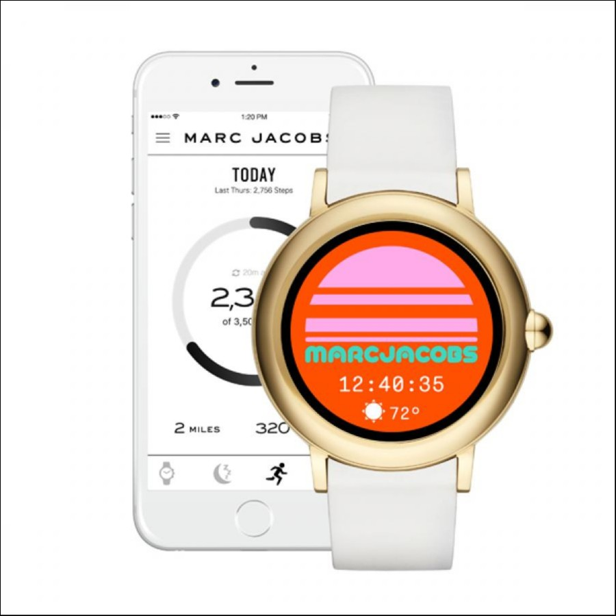 MARC JACOBS マーク ジェイコブス CONNECTED RILEY TOUCHSCREEN タッチスクリーンスマートウォッチ 国内正規品 腕時計