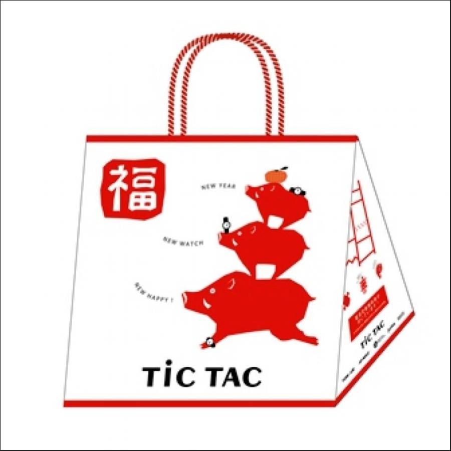 【腕時計3本入で1万円】2019 TiCTAC 福袋 HAPPY BAG WEB-HAPPYBAG