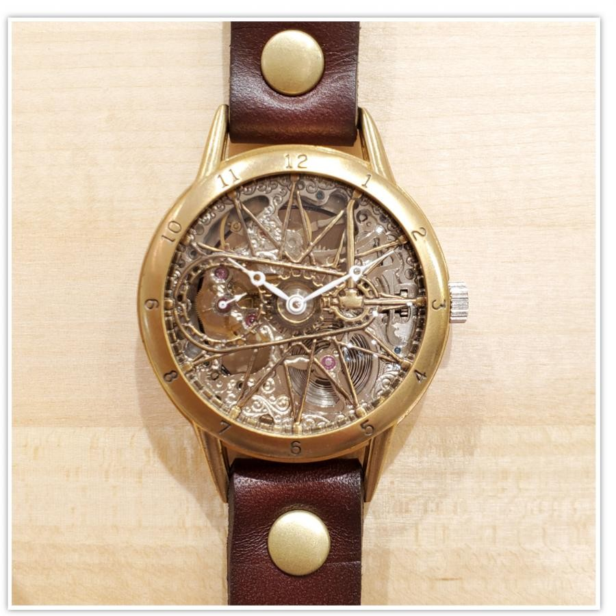 【MU-RA】手巻き時計