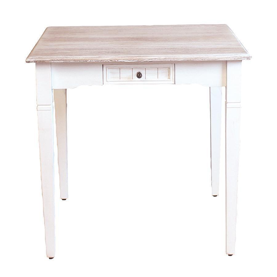 【数量限定の特別価格】リルドゥリル ダイニングテーブル(75cm幅)