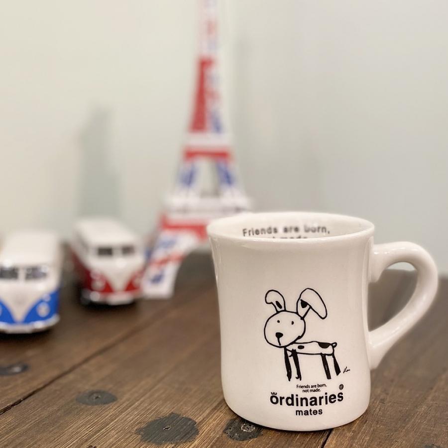 ordinaries matesマグカップ Lou
