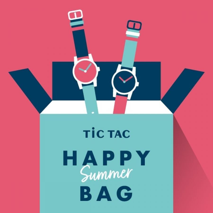【持ってて損なし実用的セット メンズ】腕時計2本で16,500円 TiCTAC 2021 HAPPY SUMMER BAG!!