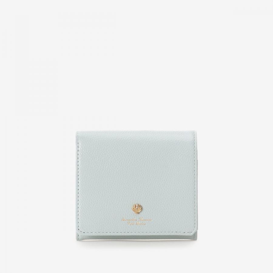 シェルモチーフBOX型折財布