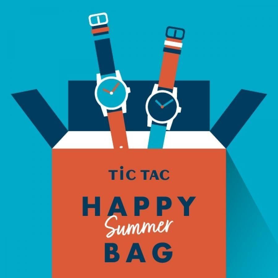 【1点豪華セット メンズ】腕時計2本で27,500円 TiCTAC 2021 HAPPY SUMMER BAG!!