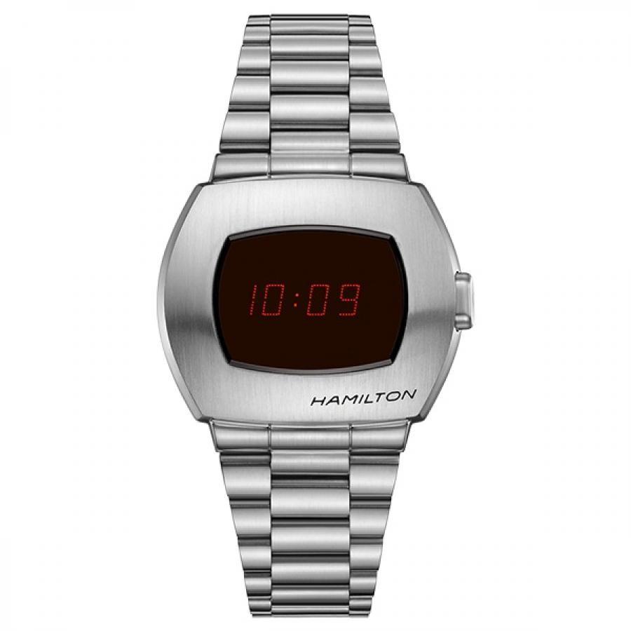 HAMILTON ハミルトン PSR ハミルトン パルサー H52414130 デジタル SS 腕時計 メンズ