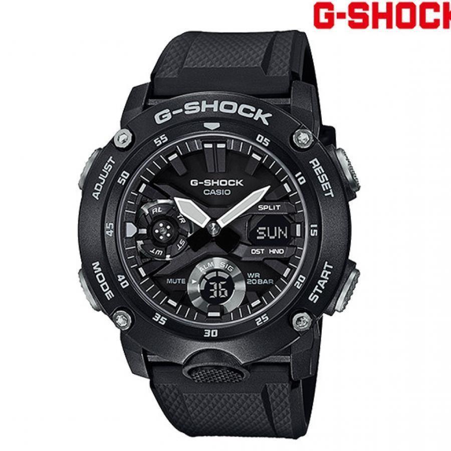 【送料無料】G-SHOCK ジーショック GA-2000S-1AJF  時計 カーボンコアガード構造