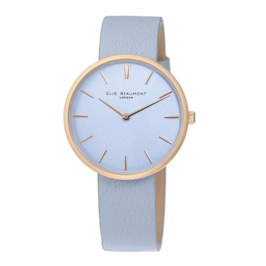 ELIE BEAUMONT LONDON 時計 ブルー