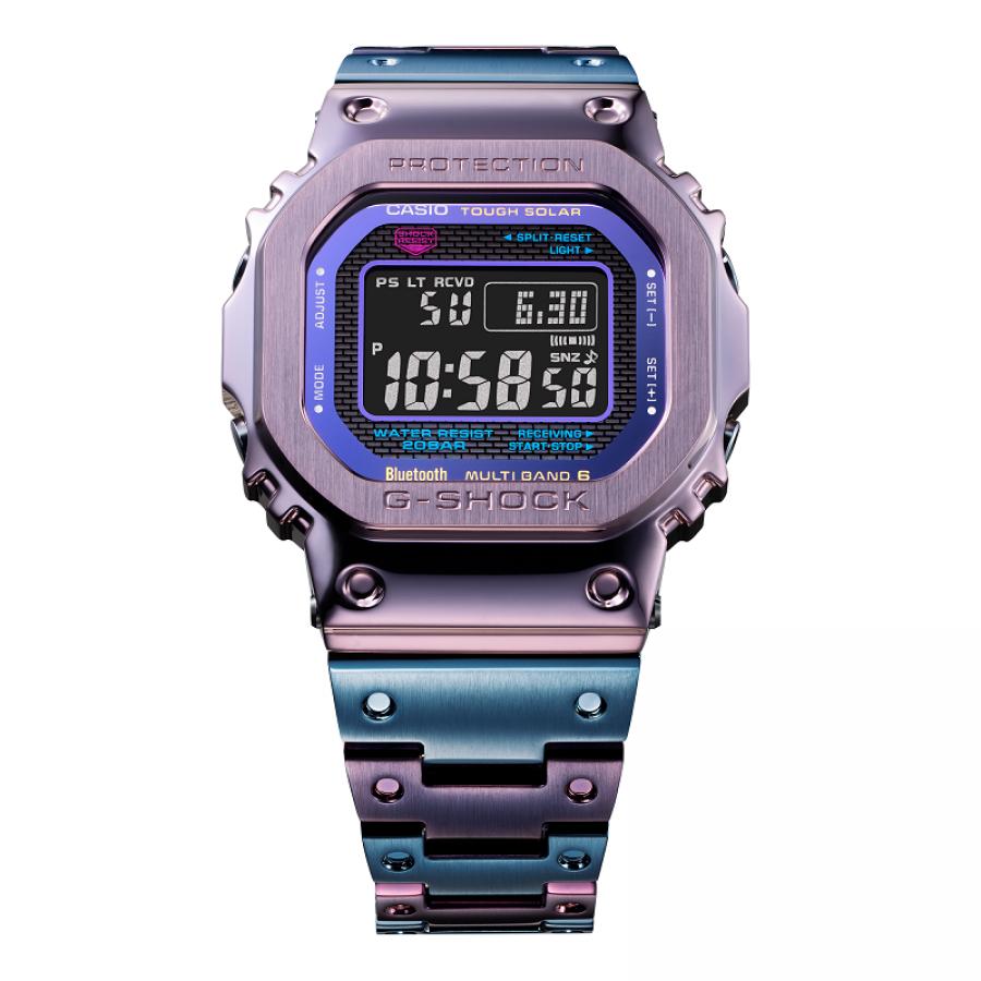 【G-SHOCK】フルメタル GMW-B5000PB-6JF 電波ソーラー バイカラーデザイン メンズ