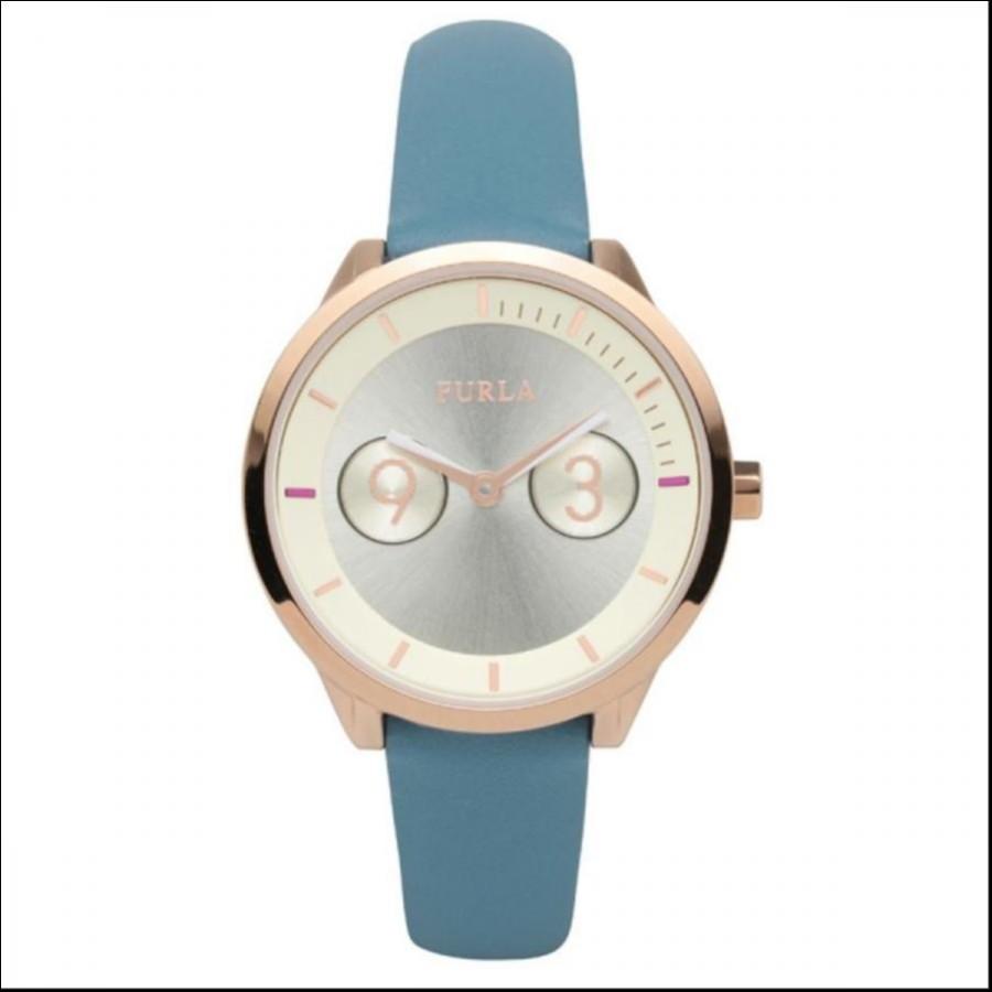 FURLA フルラ ヴェロニカブルー METROPOLIS メトロポリス 国内正規品 腕時計 レディース R4251102551