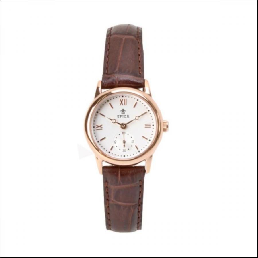 SPICA スピカ SMALL SECOND スモールセコンド TiCTAC オリジナル 腕時計 レディース SPI43-PG/BRL