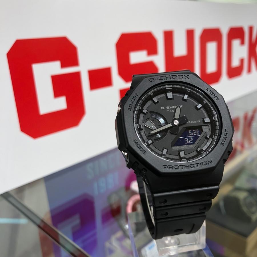 【8/25再入荷】G-SHOCK ジーショック 八角形フォルム GA-2100-1A1JF