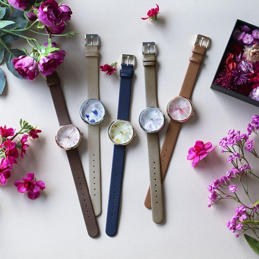 SPICA×gui flower design スピカ×グイ フラワー デザイン フラワーアーティスト 前田有紀 TiCTACオリジナル 腕時計 レディース