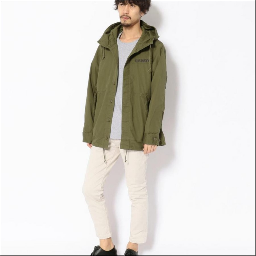ルーズ フィット パーカ/COTTON RIPSTOP LOOSE FIT PARKA