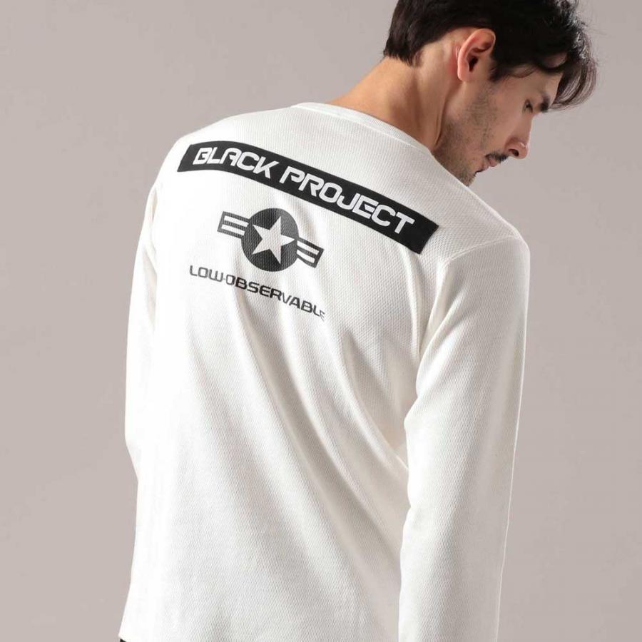 ハニカムワッフル ロングスリーブTシャツ/HONEYCOMB WAFFLE T-SHIRT