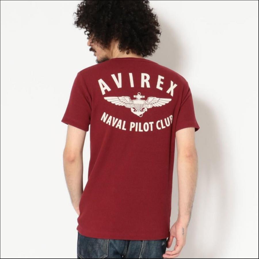 AVIREX/アヴィレックス/ワッフル クルーネックTシャツ ANPC/WAFFLE CREW NECK T-SHIRT