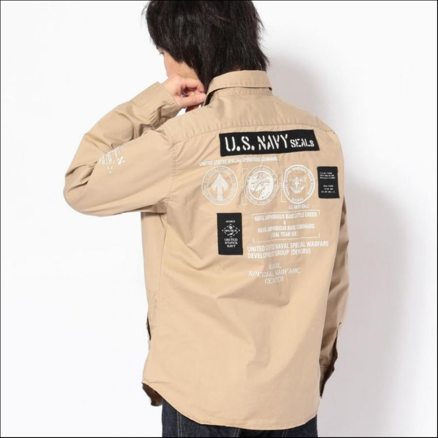 シールズ BDU シャツ/U.S.NAVY SEALs BDU SHIRT 6195094
