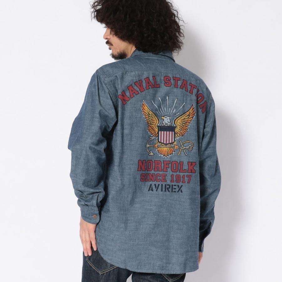 TYPE BLUE/ネイヴァル ワークシャツ/NAVAL WORK SHIRT/タイプブルー