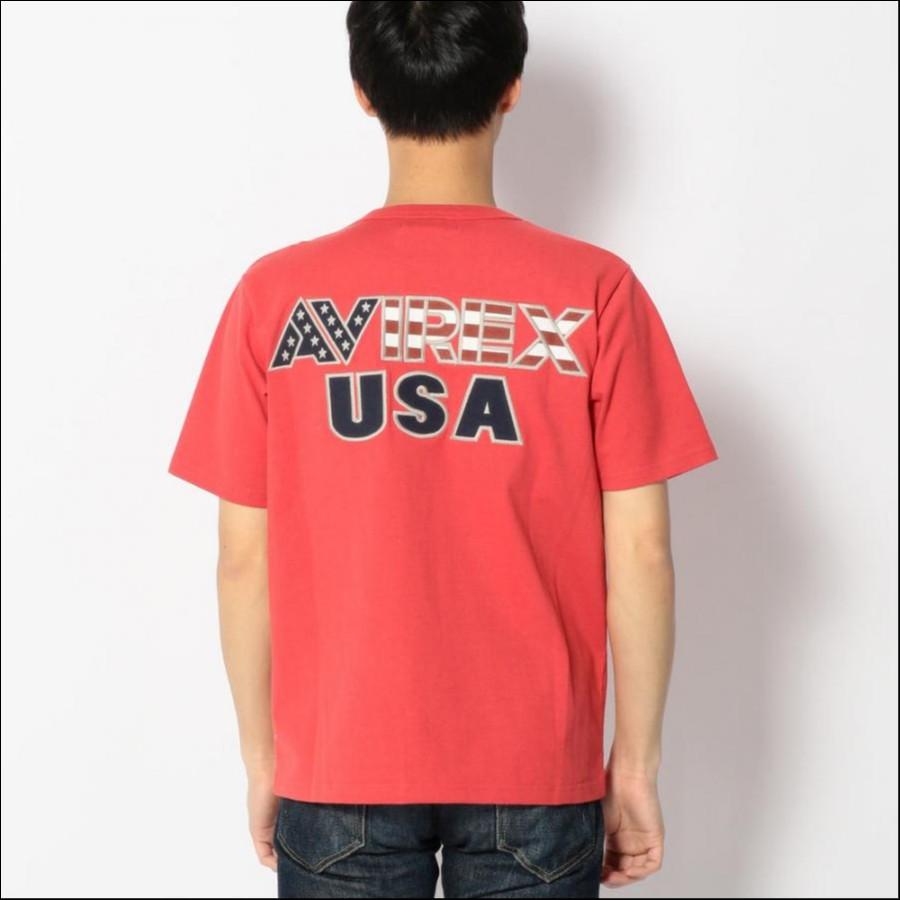 星条旗 クルーネック Tシャツ...