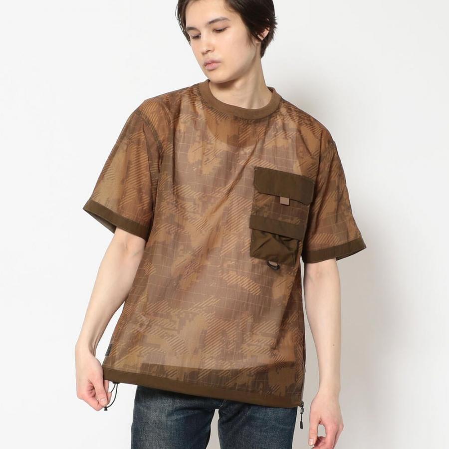 トゥランスルーセント ルーズフィット ポケット Tシャツ/TRANSLUCENT LOOSE FIT POCKET T-SHIRT/AVIREX 6115107