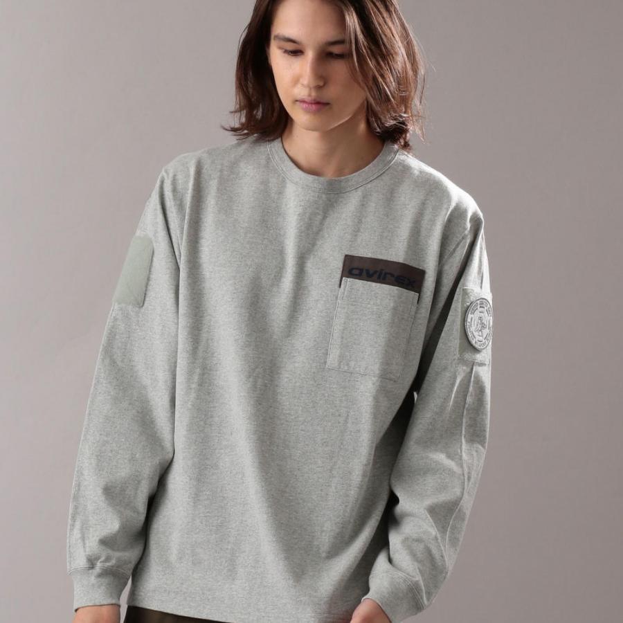 クルーネック タクティカルTシャツ/ L/S CREW NECK TACTICAL T-SHIRT 6103538