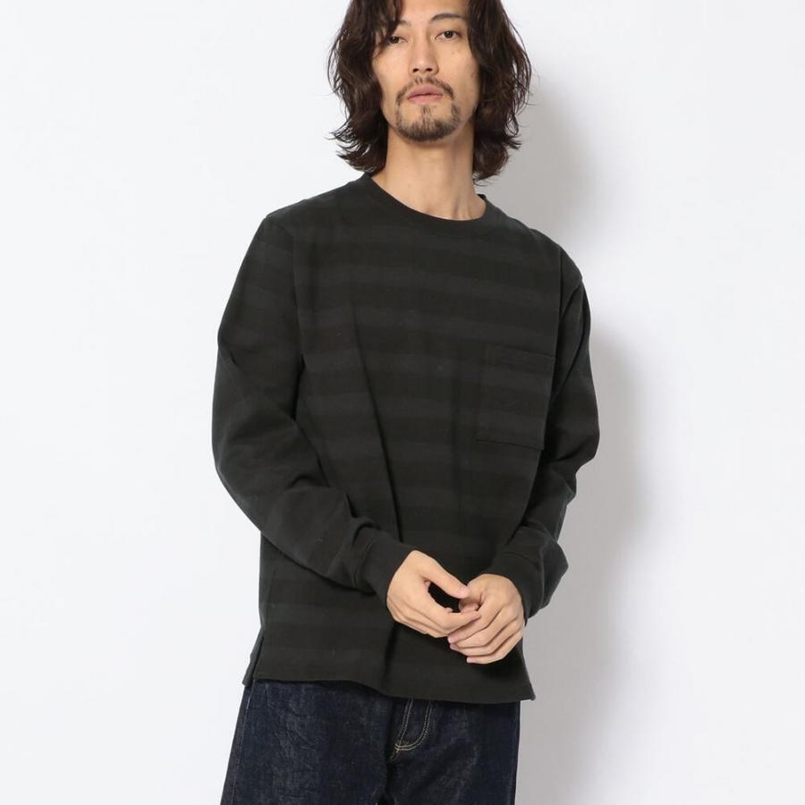 【直営店限定】ボーダー Tシャツ/DS L/S BORDER T-SHIRT 6103614