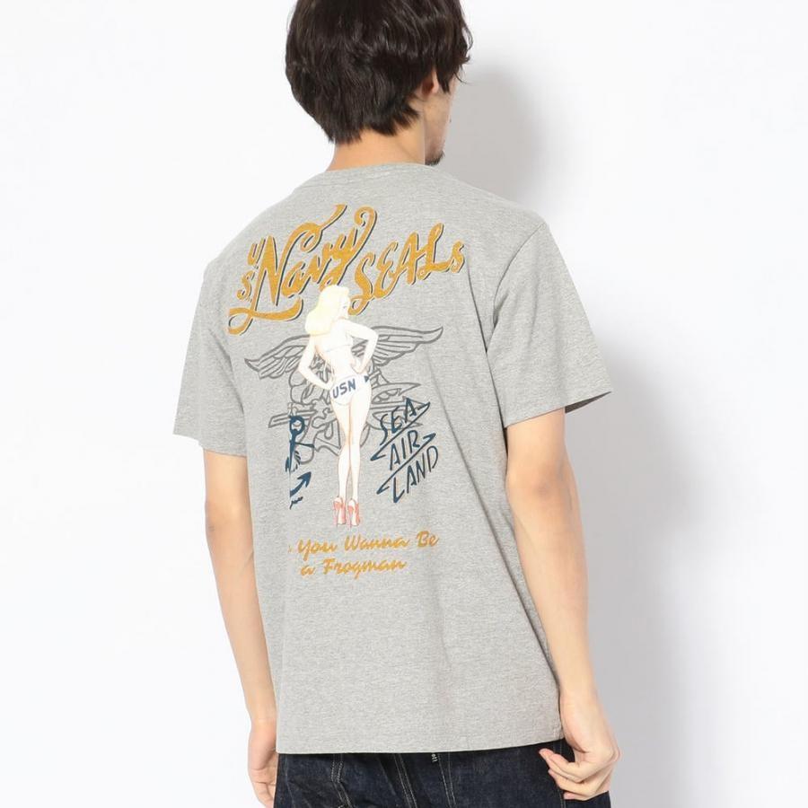 ネイビーシールズ ピンナップ ガールTシャツ/NAVY SEALs PIN-UP GIRL T-SHIRT