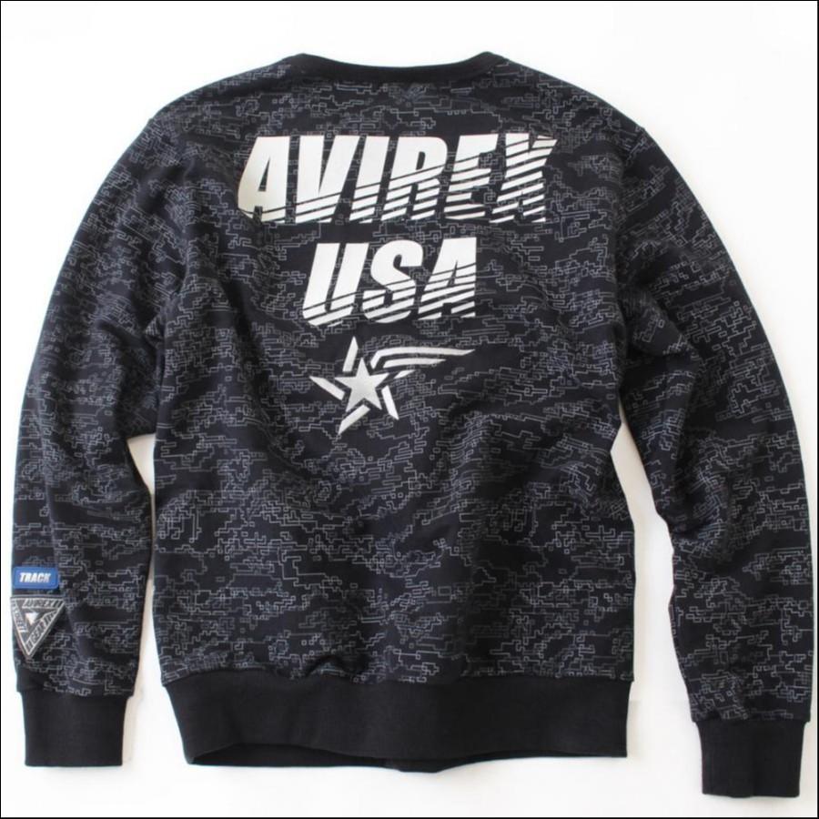 【AVIREX STREET GEAR/ TRACK】AVIREX/アヴィレックス/ガゼット スウェット/GAZETTE SWEAT