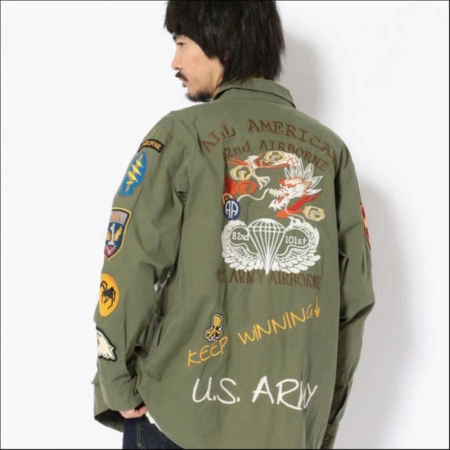 U.S.アーミー ジャングル ファティーグシャツ/U.S.ARMY JUNGLE FATIGUE SHIRT 6192123