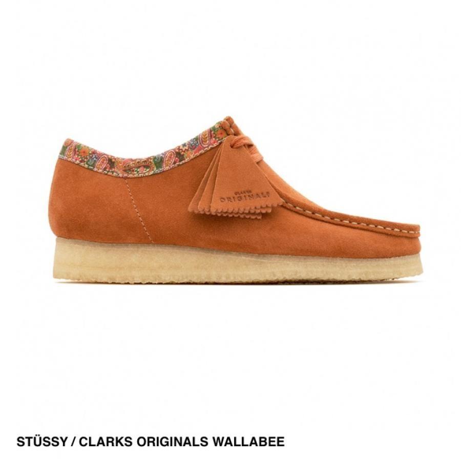 STUSSY / CLARKS ORIGINALS WALLABEE