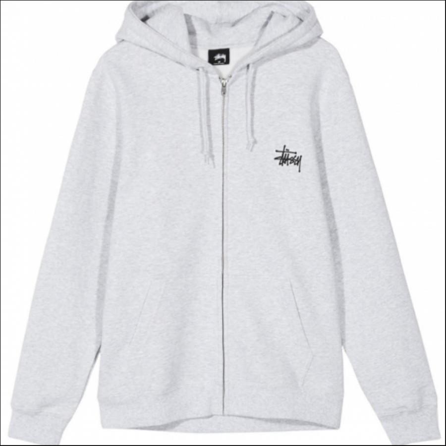 Basic Stüssy Zip Hood