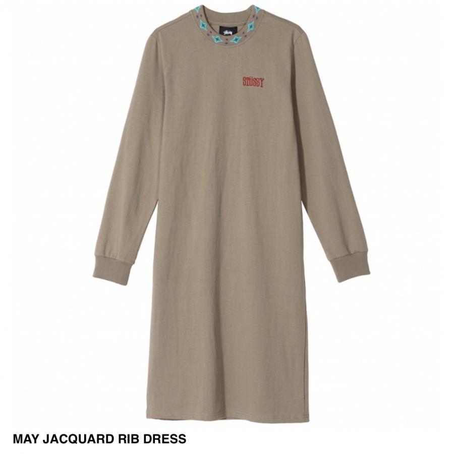 MAY JACQUARD RIB DRESS