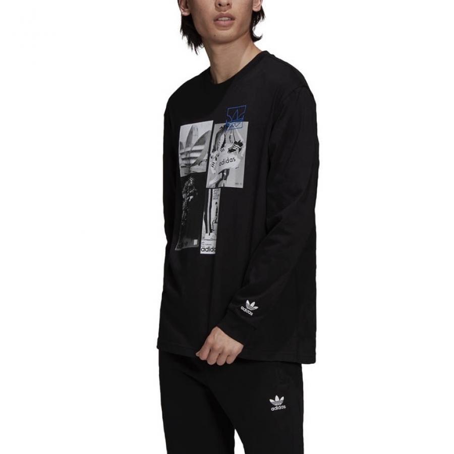 adidas Originals  グラフィック コモン メモリー 長袖Tシャツ H13518