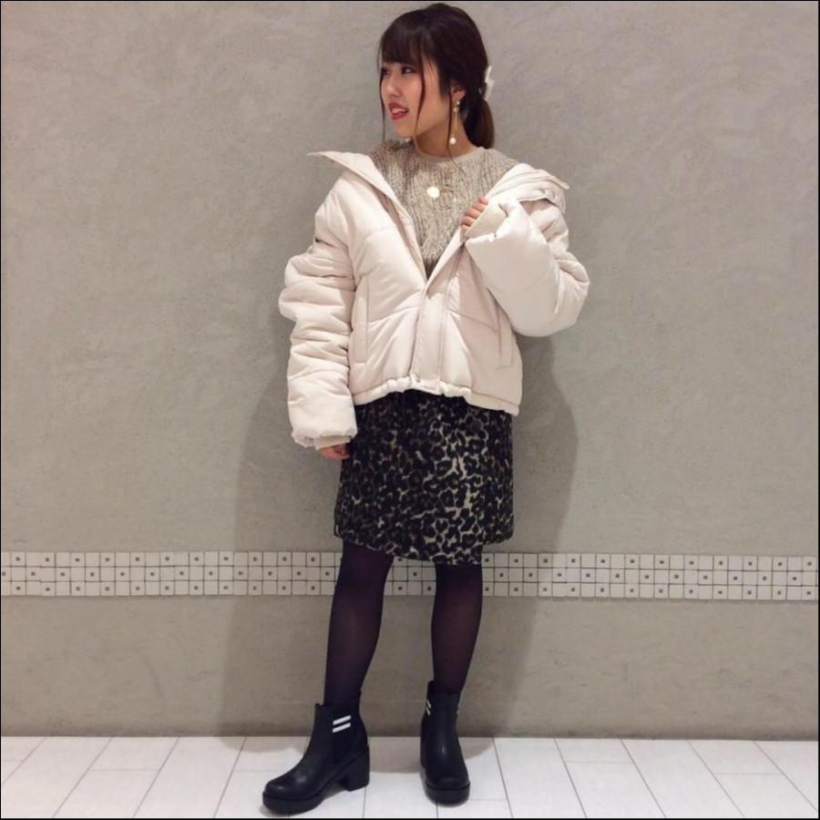 レオパ巻き風♪ミニスカート