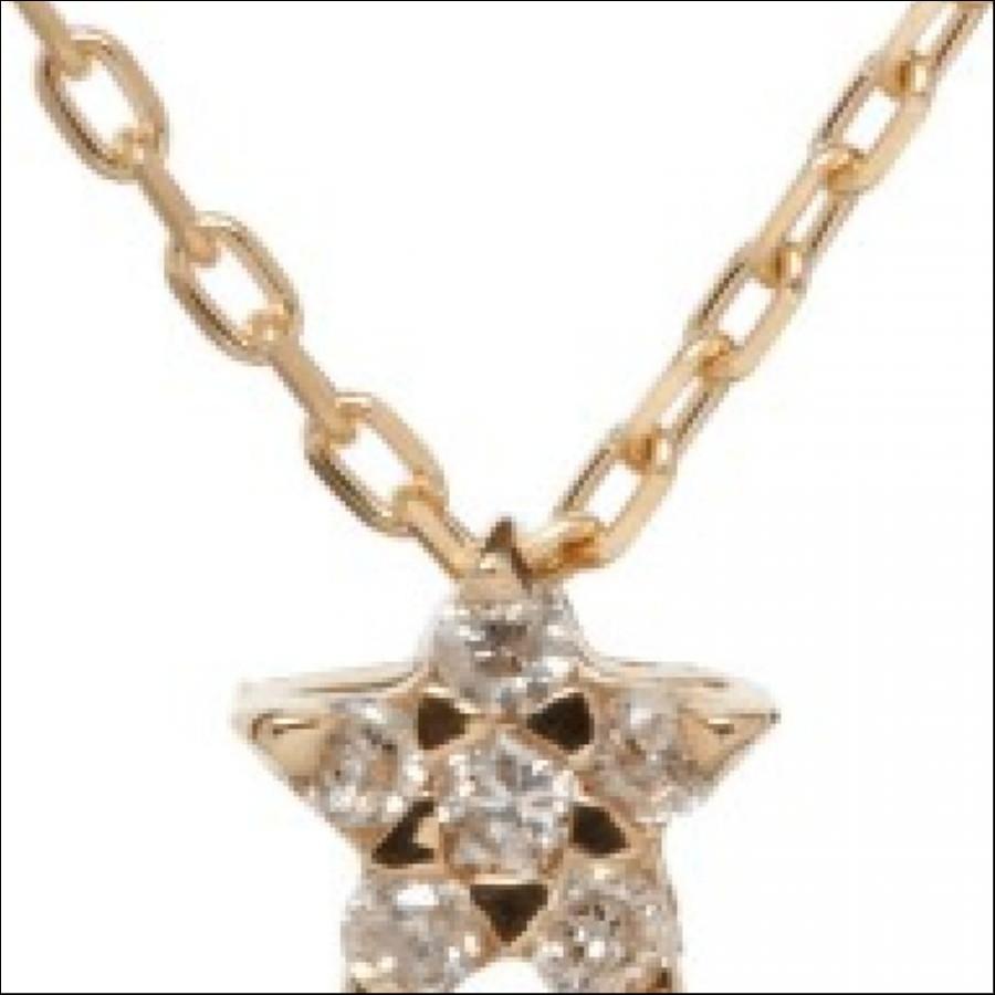 K10PGダイヤモンドネックレス