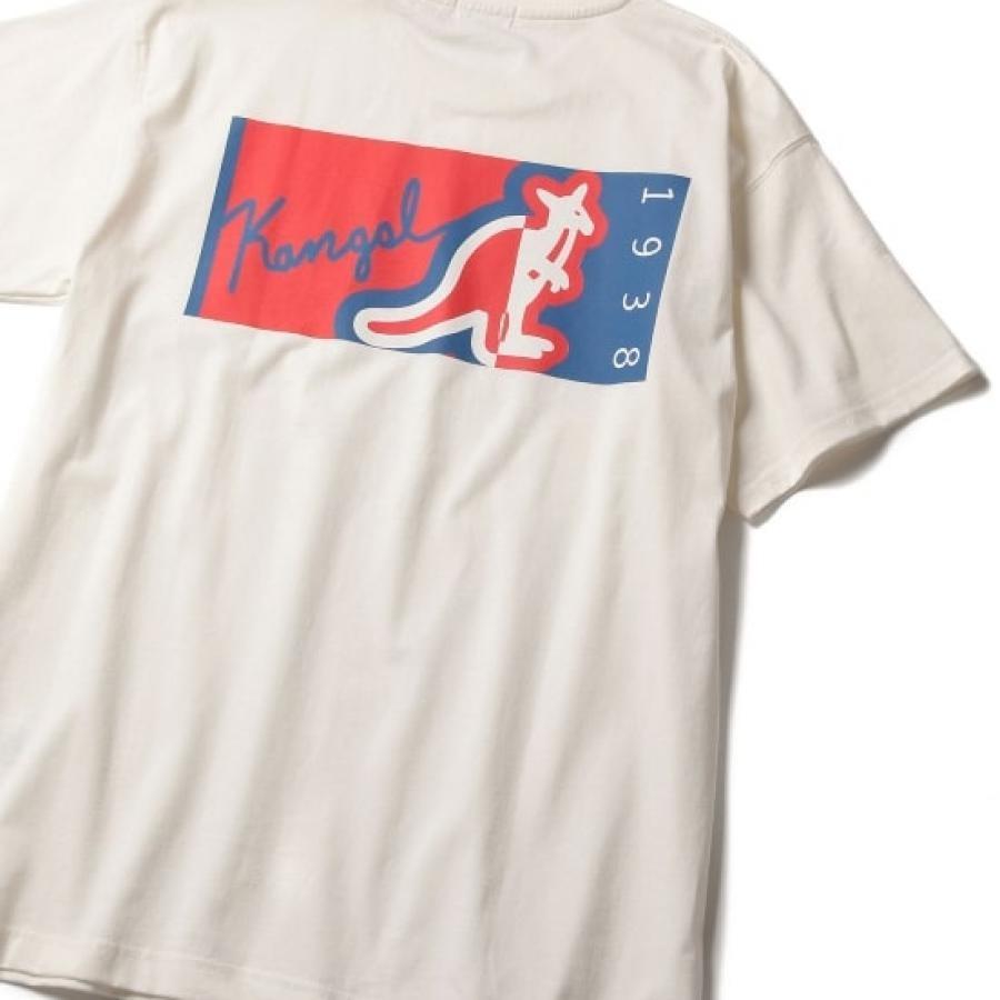 【KANGOL】別注BOXロゴTEE