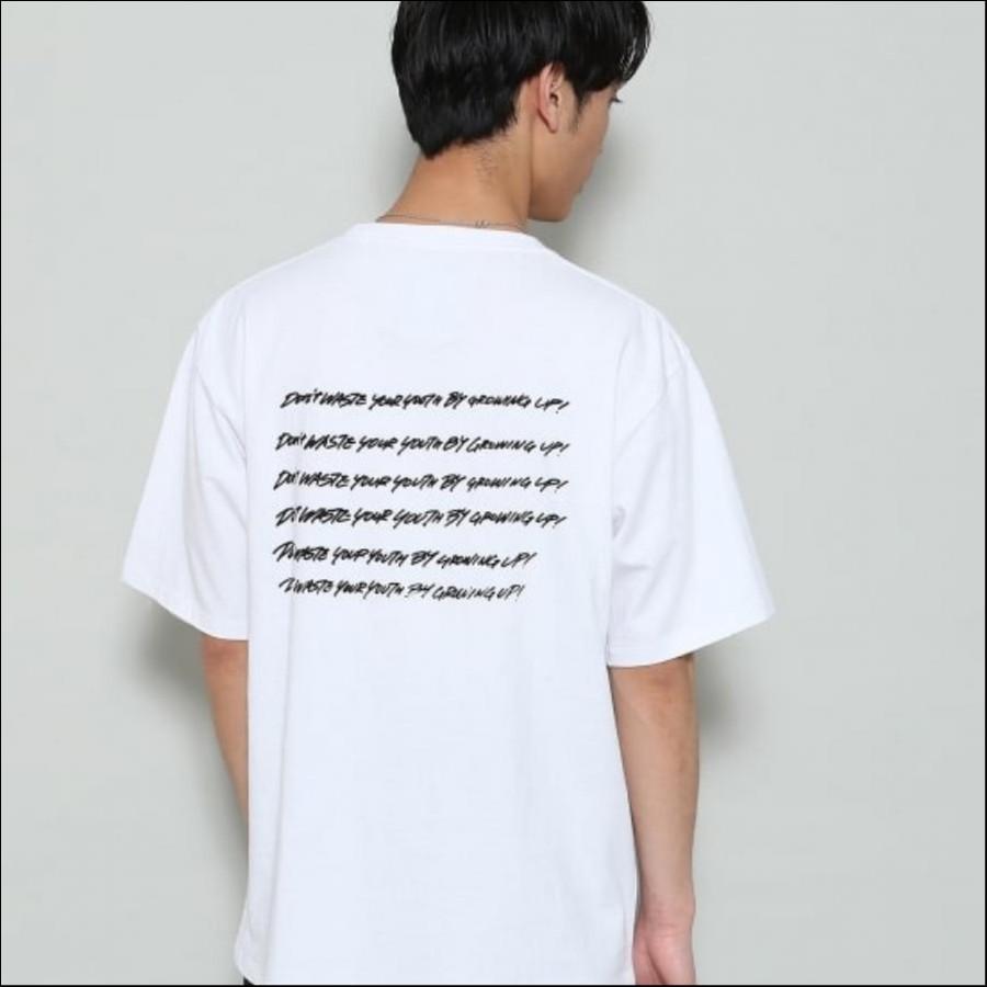 FRUIT OF THE LOOM by RYUJI KAMIYAMA×JUNRed コラボTシャツ (GROWING UP!)