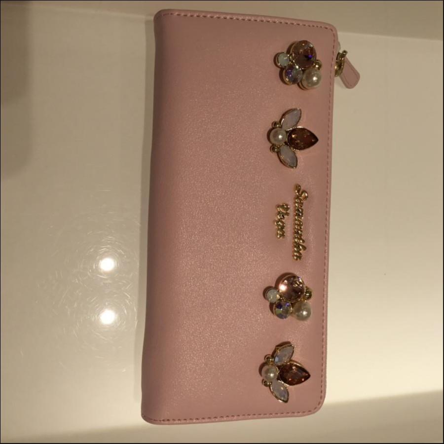 ビジュー小物 ラウンド財布(ミウラ様ご予約分)