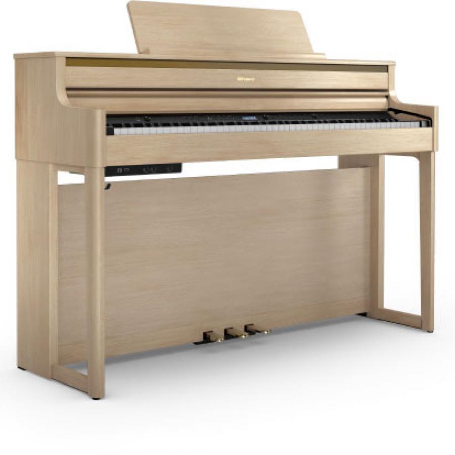 【ROLAND電子ピアノ】HP704-LAS(ライトオーク)