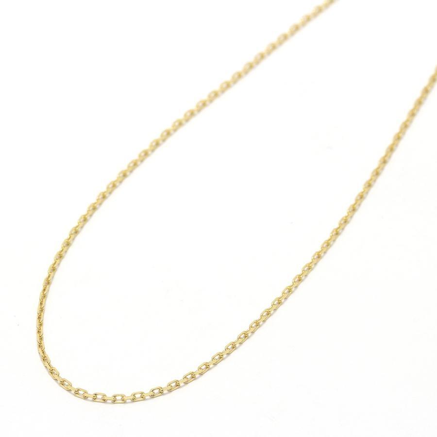 K18Yellow Gold 0.33 Square Chain 50cm