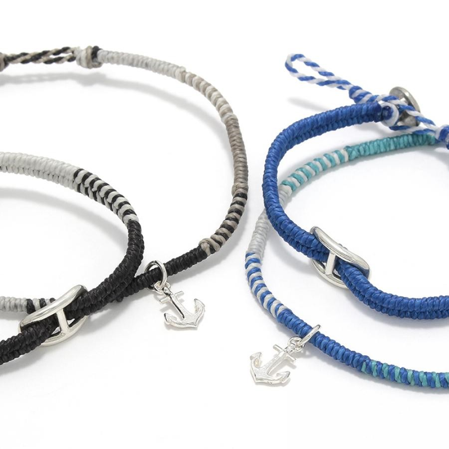 Collaboration Braid Bracelet & Anklet Set