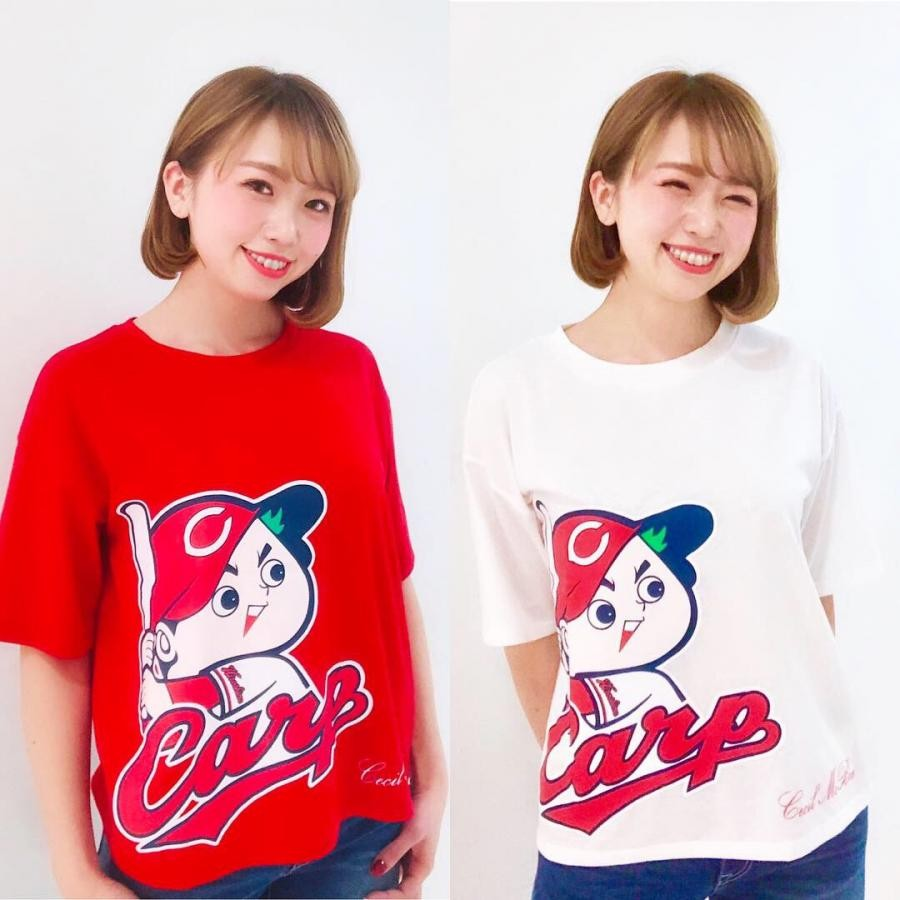 【CARP×CECIL McBEE】広島PARCO限定☆ビックTシャツ☆