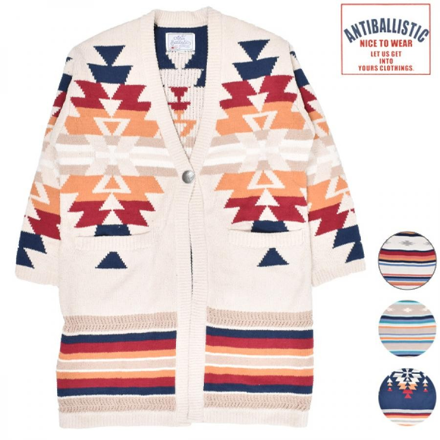 ANTIBALLISTIC アンティバルリスティック レディース セーター カーディガン