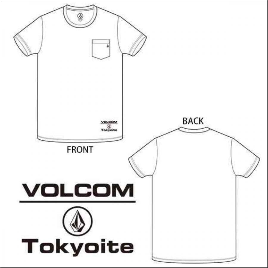【メンズ】VOLCOM 東京埼玉限定Tシャツ