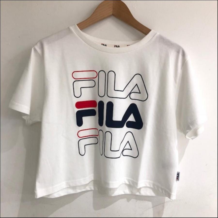 レディース   Tシャツ FILA
