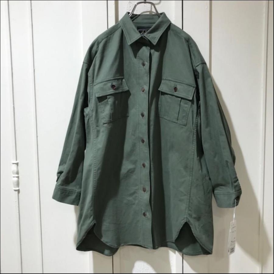 アーミーコードシャツジャケット