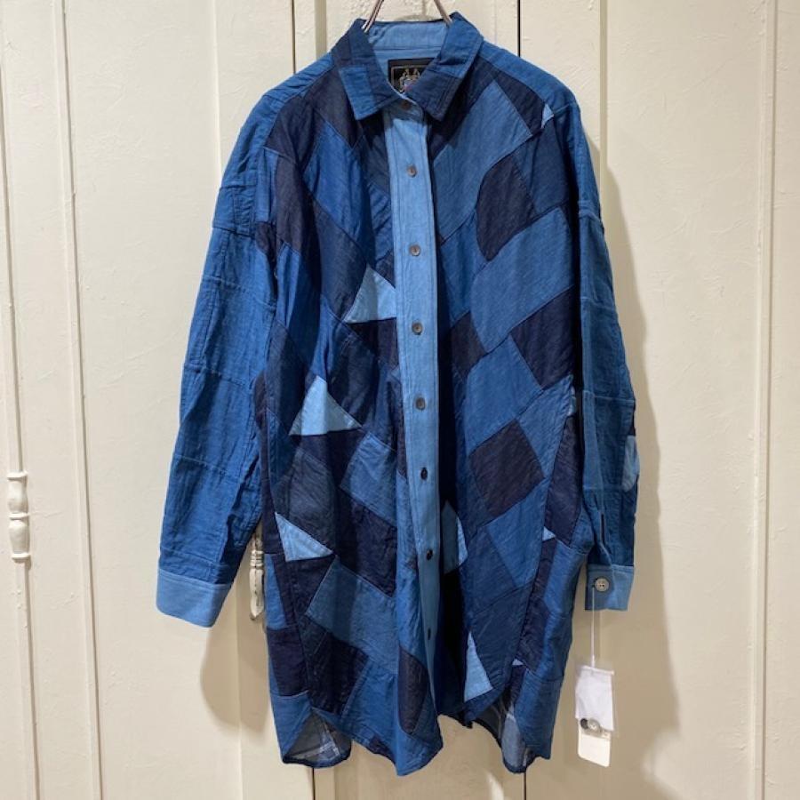 デニパッチシャツ
